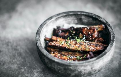 Costillas caramelizadas al estilo chino - Curso de cocina con especias