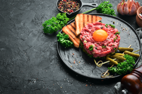 Steak tartar A Punto