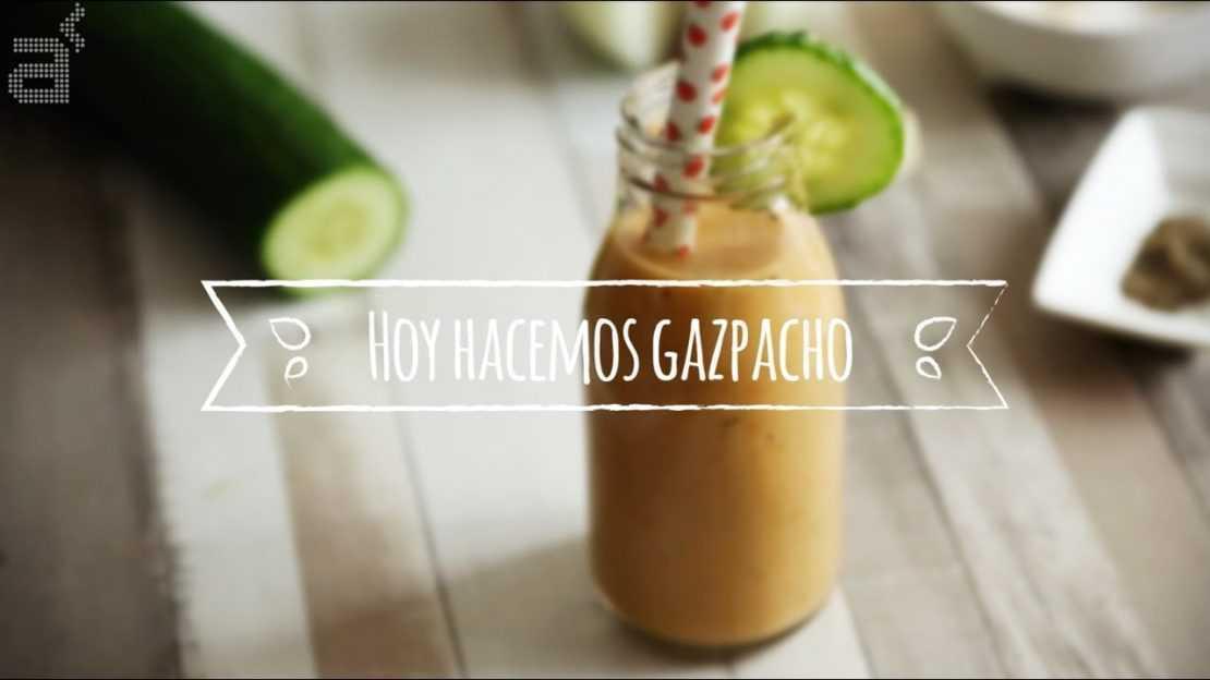 Gazpacho Andaluz (receta)