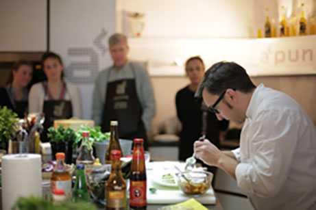 Cooking party en Madrid centro en A Punto