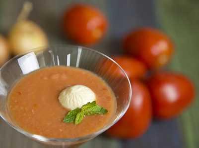 Cortes, salsas y nuestros primeros gazpachos