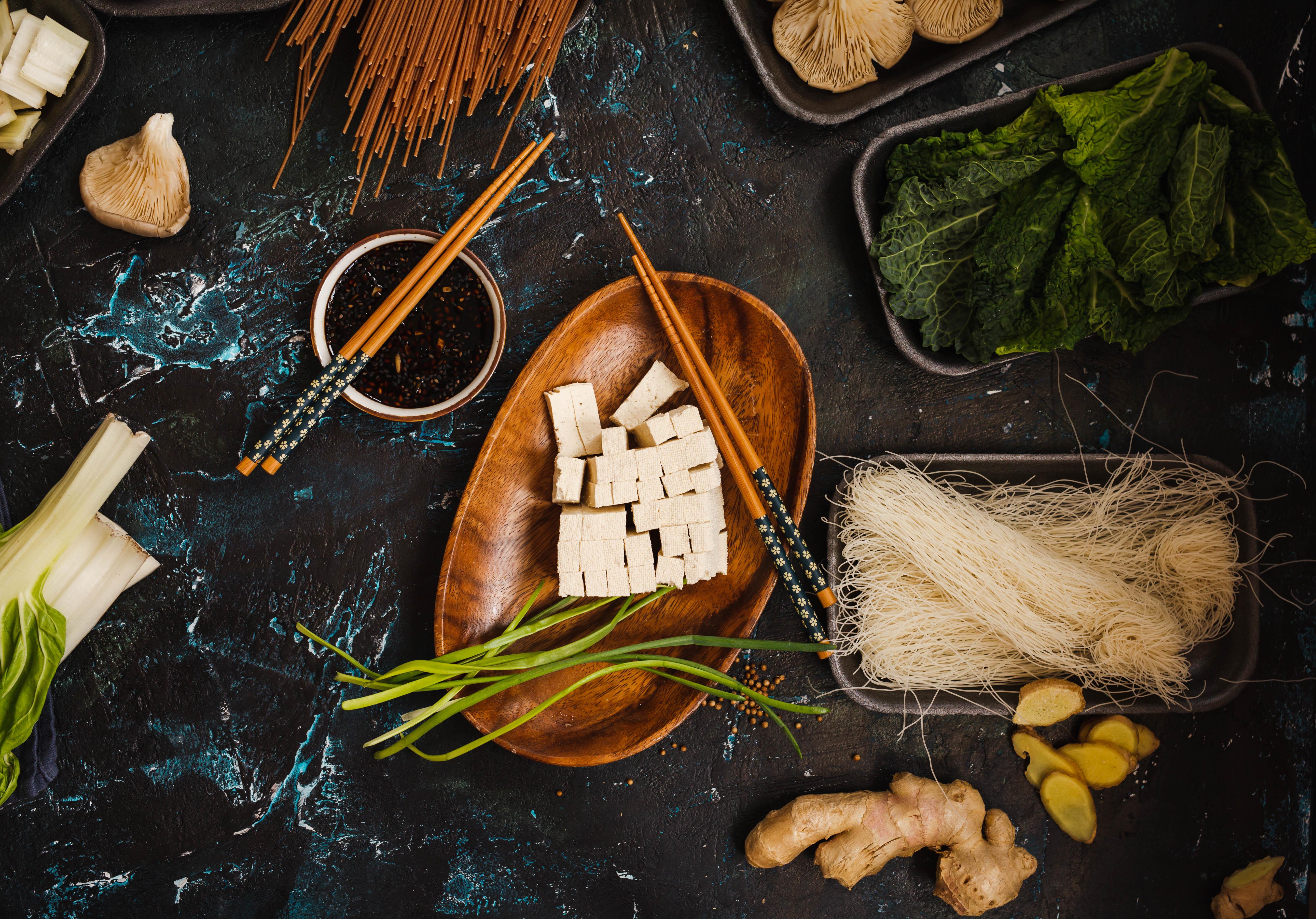 Diferencia entre tofu y seitan