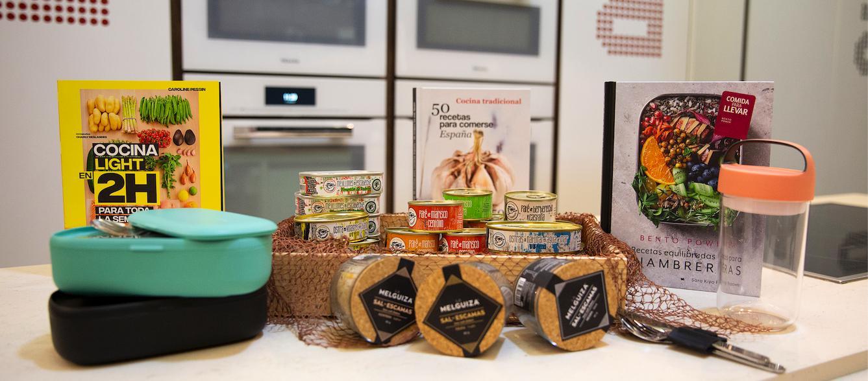 Productos para comer en la oficina