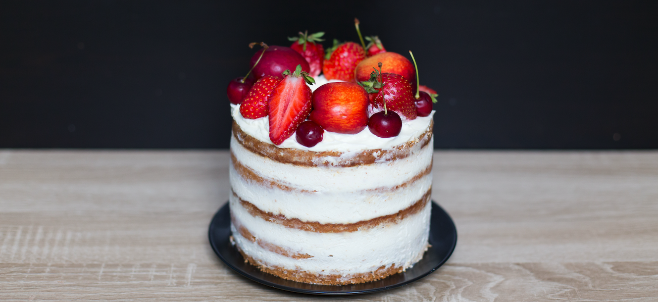 Receta del naked cake