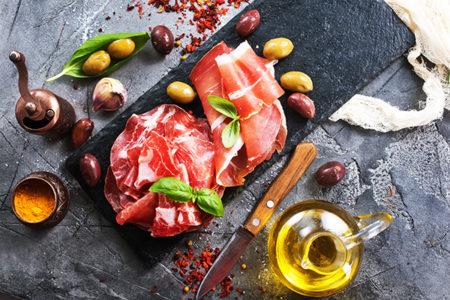 Curso de cocina con cerdo