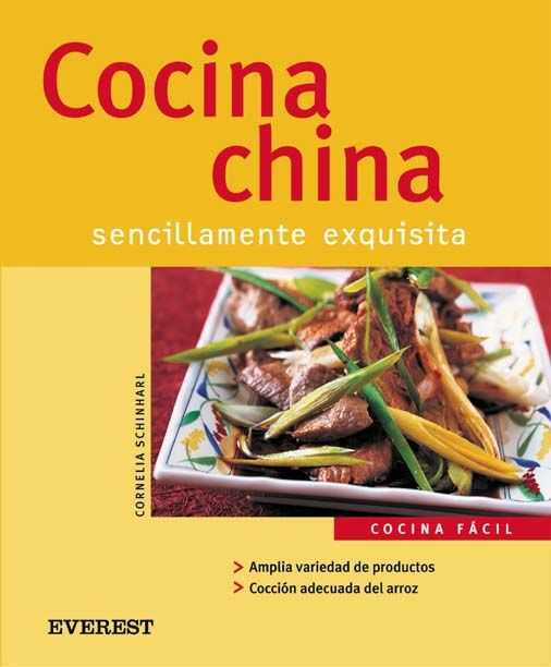 COCINA CHINA SENCILLAMENTE EXQUISITA.